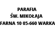 Parafia Św. Mikołaja  Warka